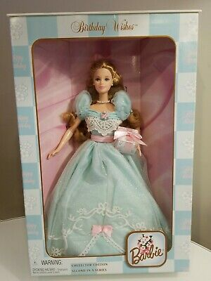 Barbie Birthday Wishes Doll 2nd in Series Collector Edition 1999 Mattel #24667