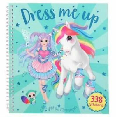 Ylvi and the Minimoomis Dress Me Up Sticker Book Sent 1st Class Post