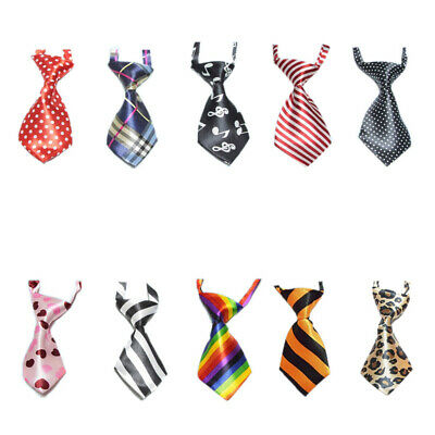 10x Lot Neck Ties Assorted Pack, Party Grooming Neckties for Baby Kids Pet Dogs