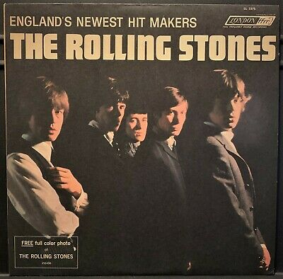 The Rolling Stones USA 1964 MONO LP With PHOTO NM/NM