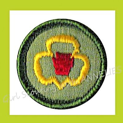 Patch Adventurer VOLUME DISCOUNT TROOP CAMPER 1970 NEW Junior Girl Scout Badge