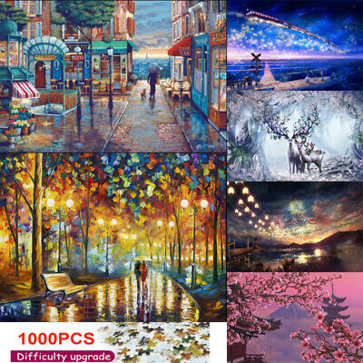 Puzzle Adult Mini 1000 Pieces Jigsaw Decompression Game Toy Gift Home Decro Nice