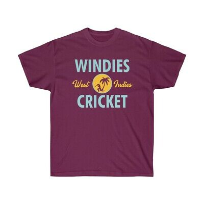 New Windies West Indies Cricket Mens Size T-shirt