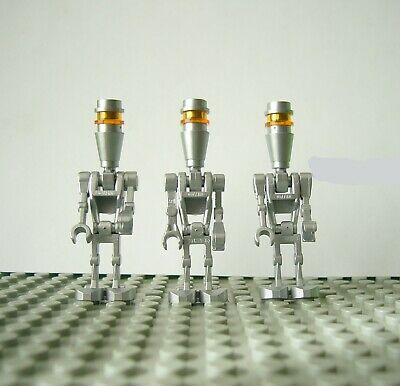 minifigures LEGO STAR WARS divided from 8015 Elite Assassin Droids