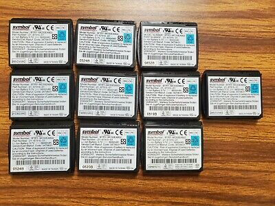 Lot of 10 Symbol Motorola MC5040 Battery BTRY-MC50EAB02 21-67315-01 3.7V 3600mAh