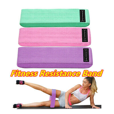 Fitness Resistance Bands Booty Fabric Glutes Hip Circle Leg Squat Yoga Non Slip