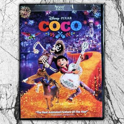 Disney's COCO DVD Brand New Free First Class mail