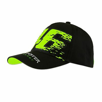 Valentino Rossi VR46 46 Monster Monza Adult Track Cap - Black/Yellow