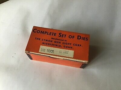 # 7020132  FREE PRIORITY SHIPPING ! Long Colt Lyman 310 Tool 4-Die Set 45 Colt
