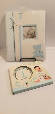 """""""Lil peach"""" Baby Boy Record Book & Baby Boy first Year Belly Stickers"""