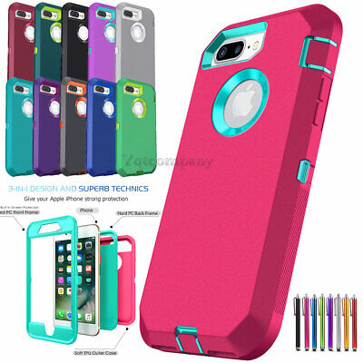 For iPhone 6s 7 8 Plus 11 Pro Max XR XS Max SE ULTRA SHOCKPROOF Armor Cover Case