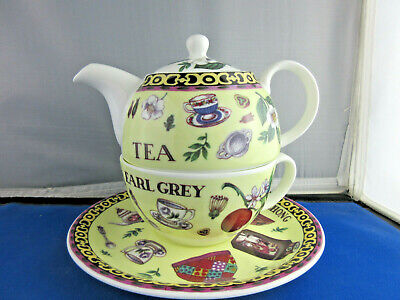 "SALE "" TEA "" TEA FOR ONE, by ROY KIRKHAM, Fine Bone China, Made in England."