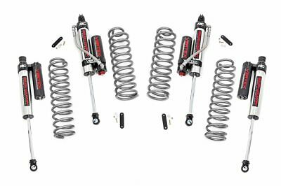 "Rough Country 2.5"" Jeep Lift Kit Vertex Adj Resi Shocks 07-18 Wrangler JKU