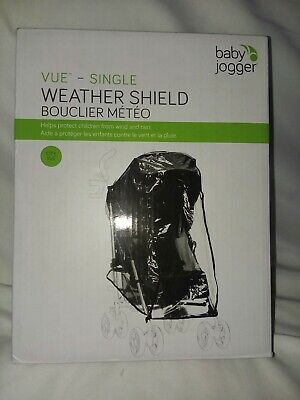 Baby Jogger City Premie Weather Shield Cover Single Rain Canopy NEW NIB