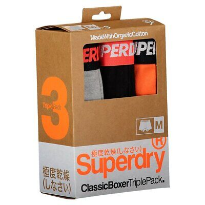 Superdry Classic Boxer 3 Pack Tricolor T20759/ Ropa Interior  Tricolor Superdry