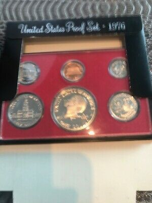 1776-1976 Bicentennial S-Series 6 Coin United States Proof Set
