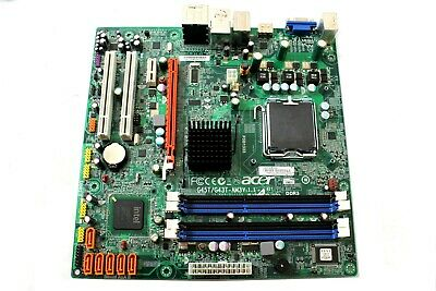 Acer Aspire AM3800 M3800 Motherboard MB.SC409.002 MBSC409002 G45T//G43T-AM3