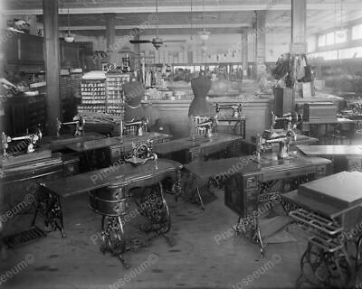 Singer Sewing Machines 1920's Classic 8 by 10 Reprint Photograph