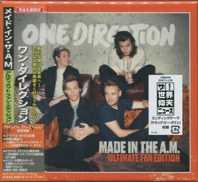Made In The A.M. (Japanese Deluxe Edition) - One Direction (CD New)