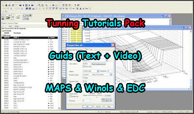 🔥3.5 GB of Tuning guide🔥 To Learn Including Faults Code + Winols Maps and More