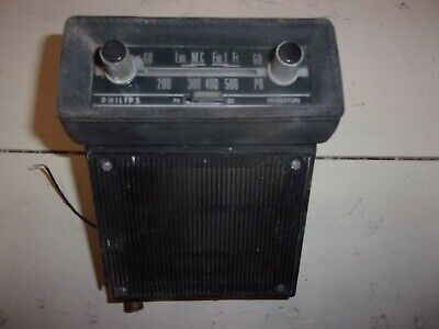 Autoradio PHILIPS ford simca citroen panhard opel  renault peugeot a transistor