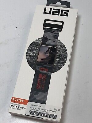UAG Active Band Strap for Apple Watch 44 & 42mm, Series 5/4/3/2/1 (Camo)  MV712