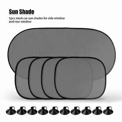 5X Car Sun Shade ACCESSORIES BABY SCREEN BLINDS VISOR WINDOW SHIELD SHADES