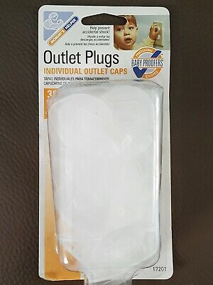 Outlet Safety Plugs Individual Outlet Caps 36 pack
