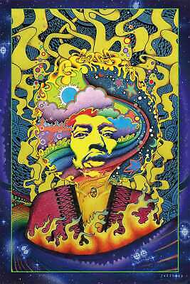 P-184 Art Psychedelic Trippy Tree Pattern Visual Mind Manifesting Poster 24x36in
