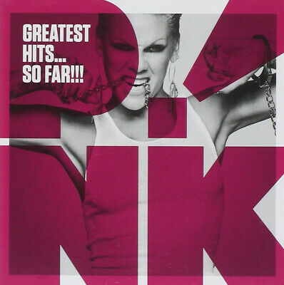 PINK Greatest Hits So Far Sealed CD Get The Party Started What Just Like A Pill
