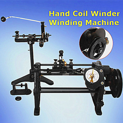 Manual Automatic Hand Coil Winder Winding Machine NZ-2
