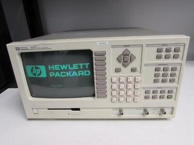 HP 35660A Dual Channel Dynamic Signal Analyzer, Opt: None