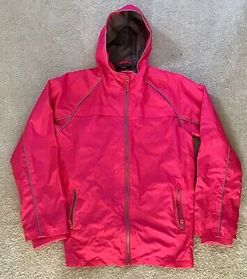 GIRLS COAT 13-14 Years waterproof hooded from George at Asda.