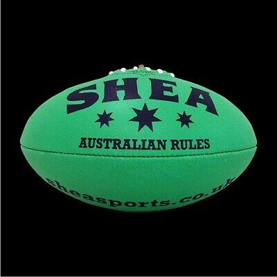 Synthetic Shea Aussie Rules Football Size 5 Orange UK Shipped Free UK Delivery