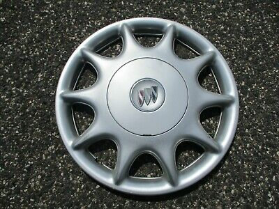 One genuine 1997 to 2002 Buick Century bolt on hubcap wheel cover