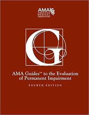Guides to the Evaluation of Permanent Impairment, 4th Edition [P.D.F]