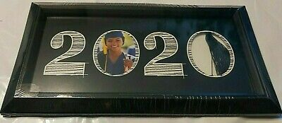 Class of 2020 Graduation Photo Picture Frame & Tassel Easel or Wall Mount 10x5.5