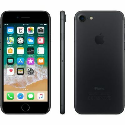Apple iPhone 7 - 32GB - Black (Unlocked) A1778 (GSM) Canadian Model