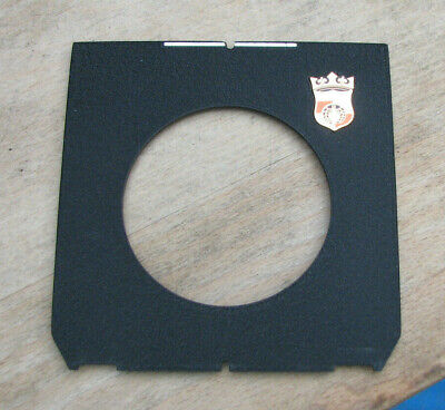 genuine Wista & Linhof fit Lens board  with 59mm centre hole