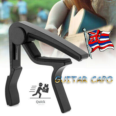 1x Universal Trigger Guitar Capo for Acoustic, Classic, Electric Guitar