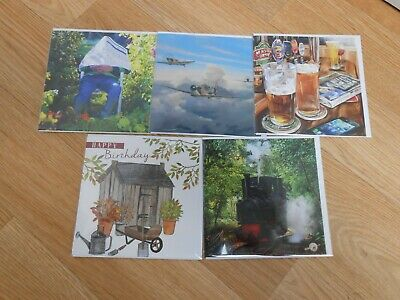 Selection of 5 x Greetings Cards Brand new St Helena Branded (2) Charity