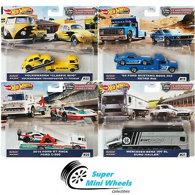 2020 Hot Wheels Car Culture Team Transport H Set of 4 Cars FLF56-956H