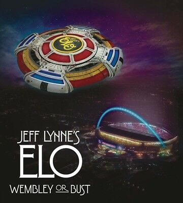 ELO Wembley Or Bust 2CD & Blu-Ray NEW 2017