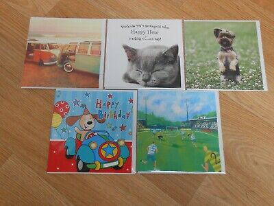 Charity Bundle Selection 5 x Greetings Cards Brand new St Helena Branded (4)