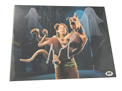 **BAM BOX EXCLUSIVE SCOOBY DOO 8x10 HAND SIGNED BY MATTHEW LILLARD WITH C.O.A**