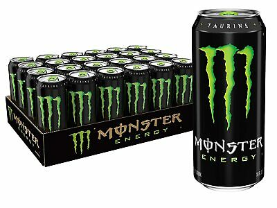 Monster Energy Drink, Green, Original, 16 Ounce (Pack of 24) free shipping
