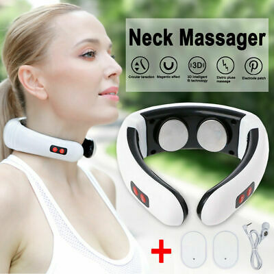 New Electric Cervical Neck Massager Body Shoulder Relax Massage Relieve Pain  AU