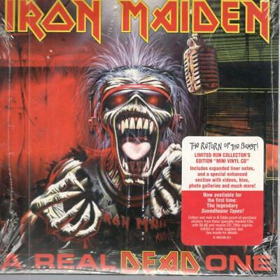 IRON MAIDEN, A Real Dead One; New & Sealed CD, Limited Edition Mini LP Replica