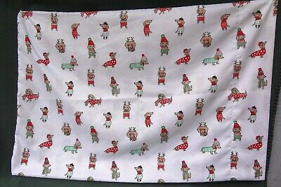 DACHSHUND DOXIE PILLOWCASE Standard Size Cute Dressed Dogs Nice Quality