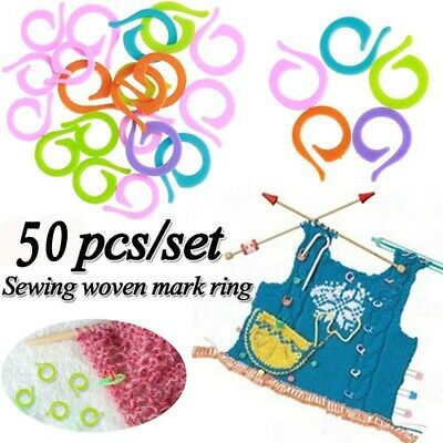 3//4//5//6MM #KNITTING 2 STYLES SET OF PLASTIC CABLE STITCH HOLDER NEEDLES